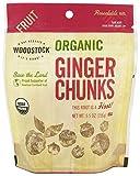 Woodstock Farms - Organic Ginger Chunks - 5.5 oz (pack of 2)