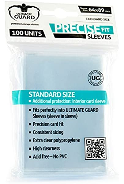 Ultimate Guard 10050 Fundas, 64 x 89 mm 10050: Amazon.es: Juguetes y juegos
