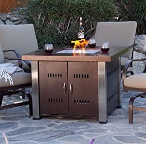 The Fire Pit, Propane Cover|Stainless Steel