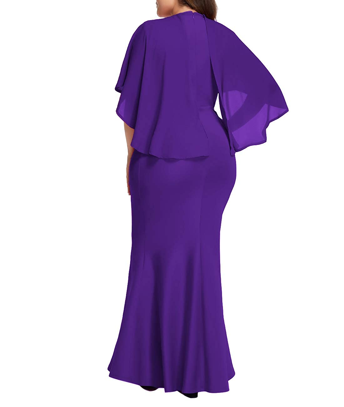 222aa12e250 Purple Plus Size Evening Gown - Gomes Weine AG