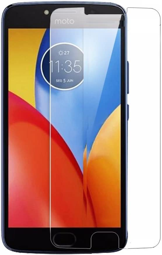 CELZO Tempered Glass Screenguard for Moto E4 Plus    Transparent  Screen guards