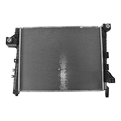 Radiator Assembly Aluminum Core Direct Fit for Dodge Ram Pickup Truck 5.7L: Automotive