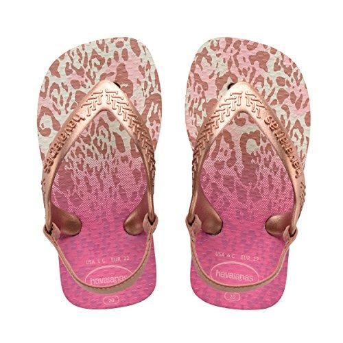 Havaianas HavaianasBaby Chic Sandal, White/Golden Blush 21 BR/Toddler (7 M - Shop Havaianas