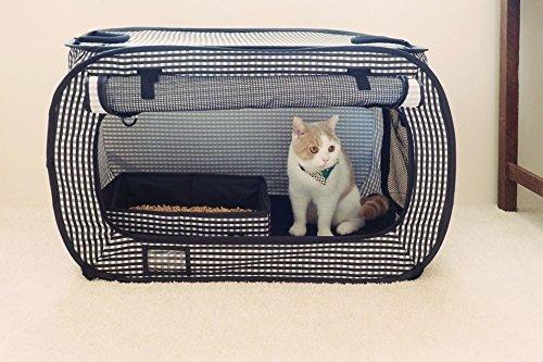 Review Necoichi Portable Cat Cage