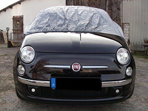 Kley Partner Halbgarage Auto Abdeckung Plane Haube Wasserdicht Uv Resistent Kompatibel Mit Fiat 500 Cabrio Ab 2010 Auto
