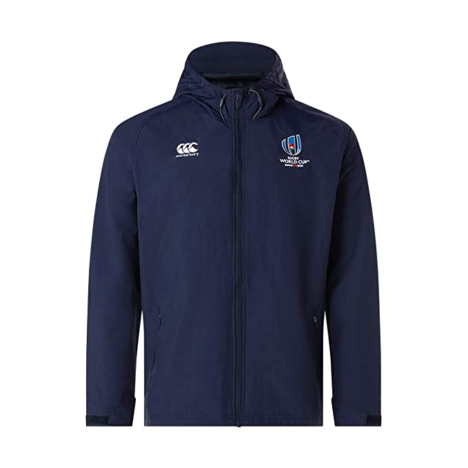 Canterbury Ufficiale Rugby World Cup 2019, Giacca Impermeabile Uomo