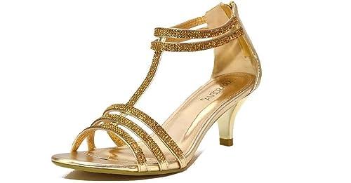 Ubershoes, Sandali donna, Nero (nero), 35
