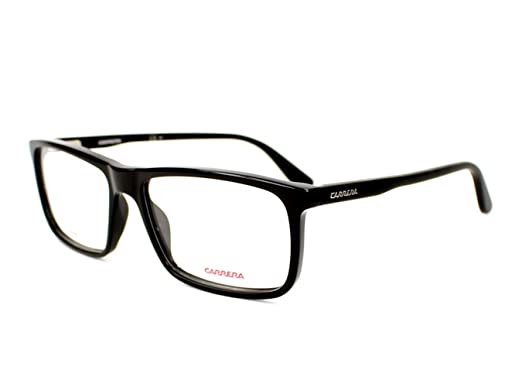 85f874363040 Amazon.com: Carrera 6643 Eyeglass Frames CA6643-064H-5616 - Black ...