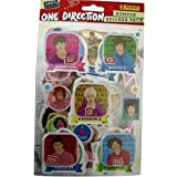 one direction sticker pack - Panini One Direction Bumper Sticker Pack