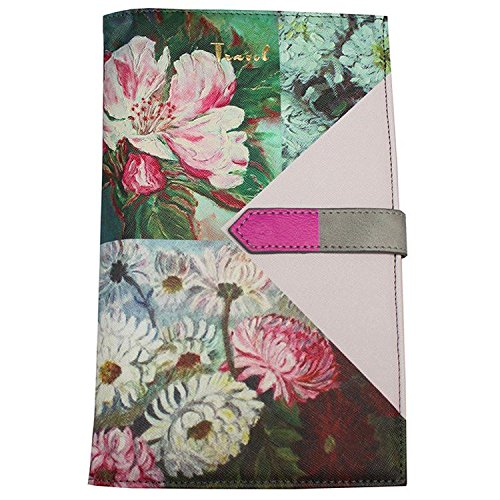 Maia Gifts Disaster Designs Framed Pink Floral Travel Wallet ...