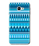 Print Vale Blue Rajasthani Design for Girls A New Arrivle Premium Quality Designer Printed Polycarbonate Matte Finish Hard Back Case Cover for Samsung Galaxy C9 Pro