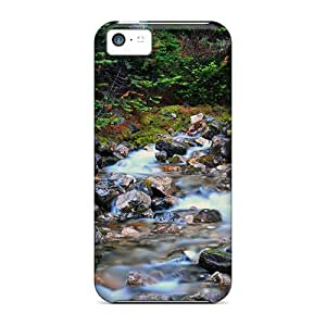 For KPlank Iphone Protective Case, High Quality For Iphone 5c Tiny Stream Skin Case Cover