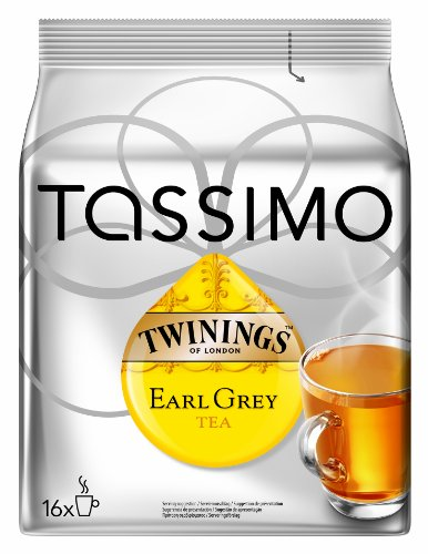 Tassimo Twinings Earl Grey Tee, 5er Pack (5 x 16 Portionen)