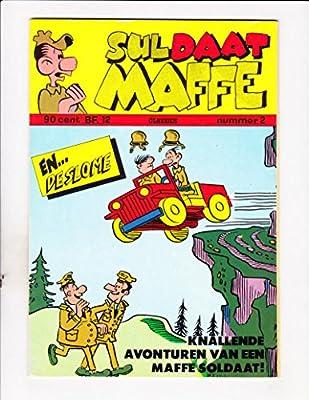 Suldaat Maffe No 2 1973 Dutch Sad Sack Jeep Cover