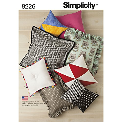 - Simplicity Creative Patterns Simplicity Pattern 8226 Easy Pillows