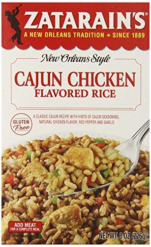 Zatarain's Cajun Chicken Flavor Rice, 8 oz (Pack of 12)