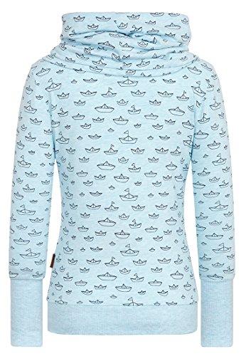 Naketano Wollüstiges Turngerät Female Sweatshirt Bubble Butt Melange, XS