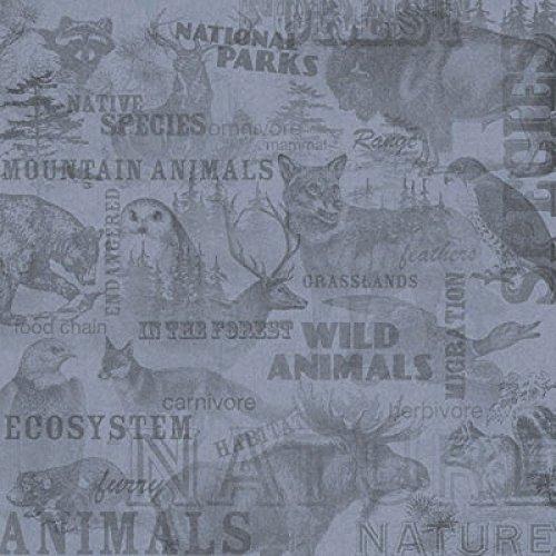 - Karen Foster 12 X 12-Inch Scrapbook Paper, 25 Sheets, Wild Life Collage