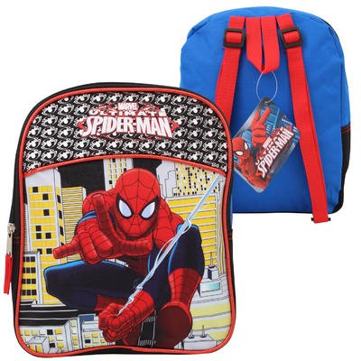 Marvel Ultimate Spider-Man Boys Mini Backpack (One size, Blue/Black/Multi)