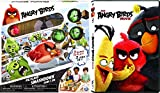 The Angry Birds Movie & Game Bundle - Animated DVD & Pig Island Smashdown Game Family Fun Set