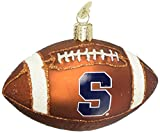 Old World Christmas Ornaments: Syracuse Football Glass Blown Ornaments for Christmas Tree