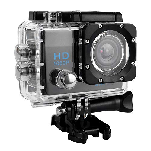 (Full HD 1080P Waterproof Sports Camera,Fullwei DVR 2.0inch Sports Camera WiFi Cam DV Action Camcorder - Delivered Within 7 Days (A))