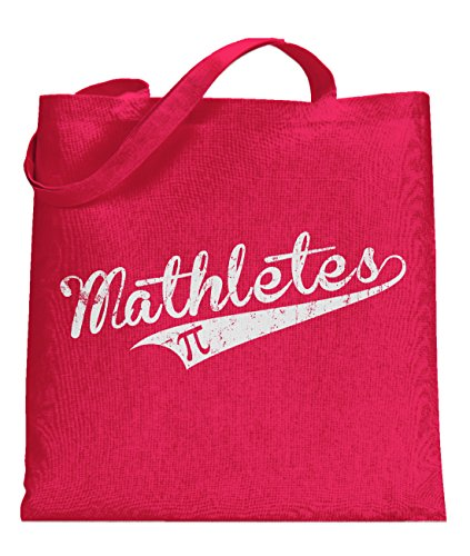 Price comparison product image Crazy Dog Mathletes Universal Tote Bag Cool Geeky Nerdy Math Sport Tote standard