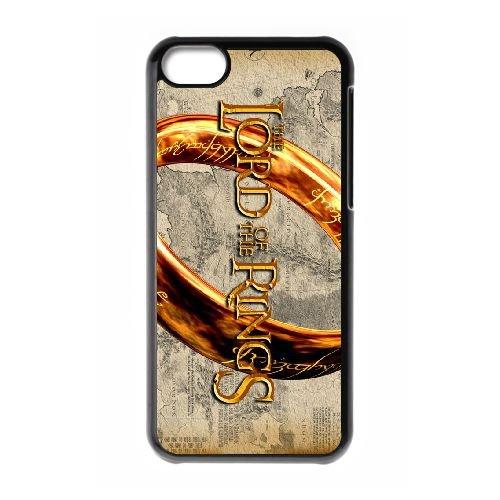 R3N85 Seigneur des Anneaux C7P1YB coque iPhone 5c cellulaire cas de téléphone couvercle coque noire IG3JGX7LR