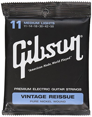 Gibson Vintage Reissue Electric Guitar Strings, Medium 11-50