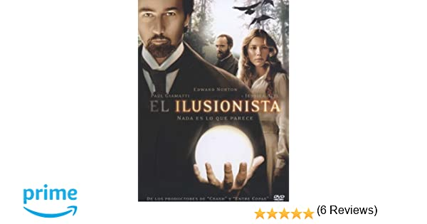 El Ilusionista [DVD]: Amazon.es: Edward Norton, Paul Giamatti, Jessica Biel, Neil Burger, Brian Koppelman, David Levien: Cine y Series TV