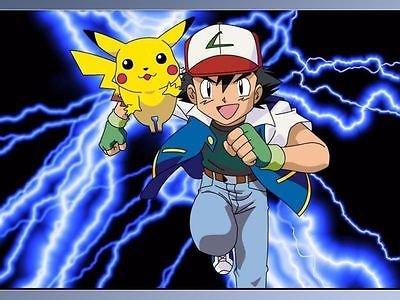 sdore Pokemon Pikachu comestible cumpleaños 1/2 media hoja ...