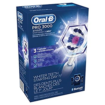 Oral-b Pro 3000 Electronic Power Rechargeable Battery Electric Toothbrush With Bluetooth Connectivity Powered By Braun 11