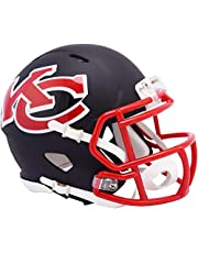 Riddell Kansas City Chiefs AMP Alternate Revolution Speed Mini Football Helmet - NFL Mini Helmets