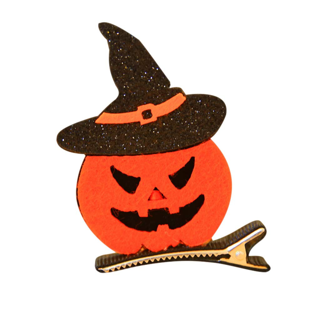 Ferrell Halloween Girl Alligator Hair Clips Fantasma / Sombrero de Bruja / Calabaza / Cat Hair Hairpin Hair Accessories
