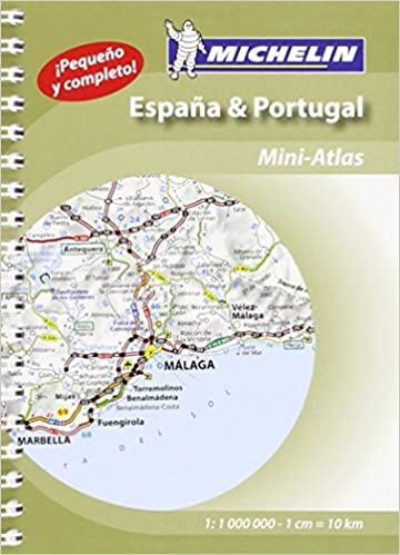 Spain Portugal Michelin Miniatlas Michelin Tourist And - Portugal map michelin