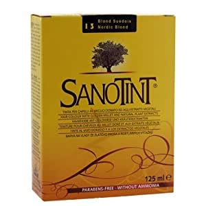 Sanotint swedish blonde hair dye 13 by cosval for Cosval sanotint