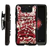 TurtleArmor | Motorola Droid Maxx Case | Droid Ultra Case | XT1080 [Hyper Shock] Armor Rugged Hybrid Cover Hard Stand Impact Holster Belt Clip Video Games Design - Gaming Collage