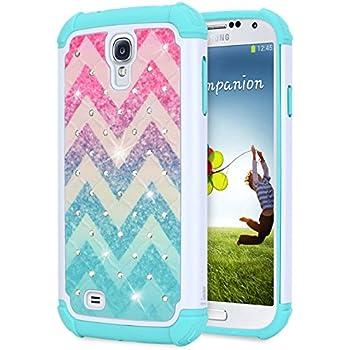 Amazon.com: Galaxy S4 Liquid Case,S4 Case, Galaxy S4 Case ...