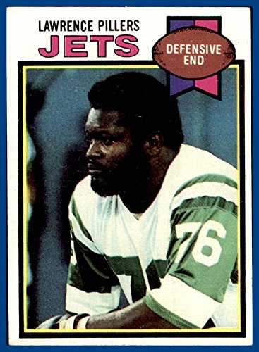 1979 Topps #287 Lawrence Pillers NEW YORK JETS ALCORN STATE (ex-mt) ()