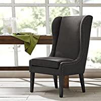 Madison Park FPF20-0281 Garbo Captains Dining Chair
