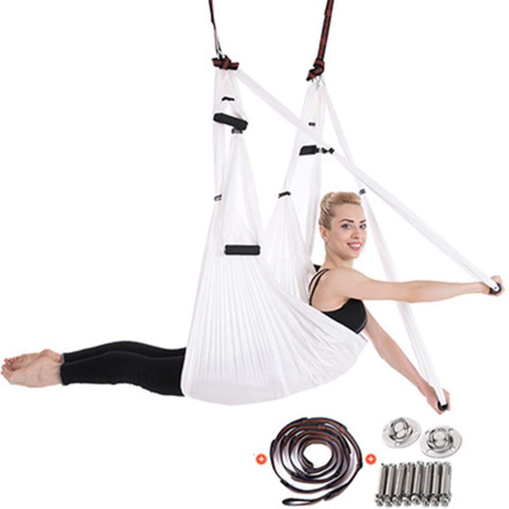 Gelb 250150CM Xuetaimeigu Yoga-Hängematte Luft-Yoga-Hängematte Yoga-Stretch- d Professionelle Luft-Yoga-Hängematte Geeignet für Anfänger und Kinder