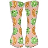 Cool Kiwi Fruit Crew Socks Long Tube Socks For Girls