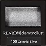 REVLON Luxurious Color Diamond Luste Eye Shadow, 100 Celestial Silver, 0.028 Oz, Pack of 10.