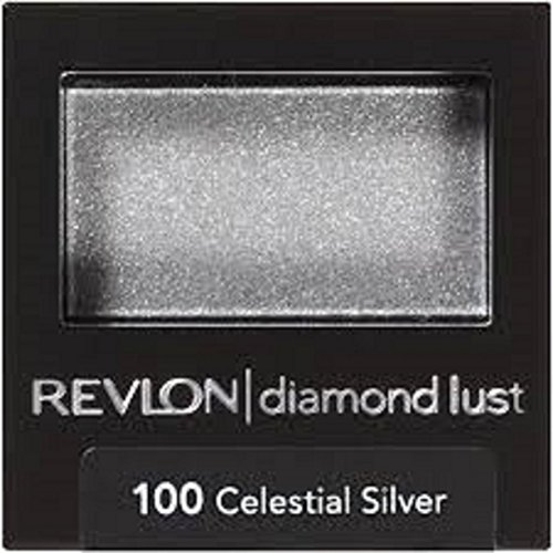 REVLON Luxurious Color Diamond Luste Eye Shadow, 100 Celestial Silver, 0.028 Oz, Pack of 10. by REVLON Luxurious Color Diamond Luste Eye Shadow