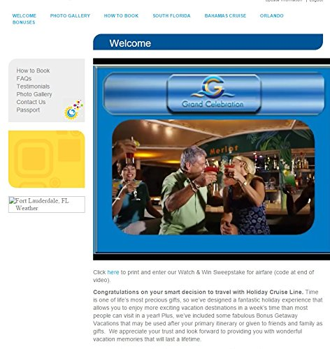 holiday cruise line tickets
