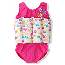 DAXIANG Toddlers Baby Girls Boy Buoyancy Swimsuit Removable Float Suit Bathing Suit