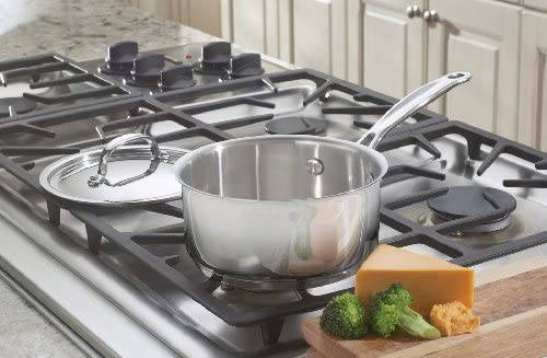 719-16 Chef's Classic Stainless Saucepan with Cover, 1 1/2 Quart