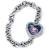 MLB Women's MH-PHI Heart Collection Philadelphia Phillies Watch