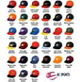 Collegiate Cap NCAA Official Authentic Replica Baseball/Football Hat (Youth/Adult Adustable, 33 College Teams) by NCAA Licensed Cap by OC Sports