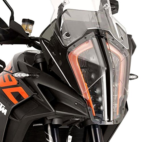 Puig 9470W HEAD LIGHT PROTECTOR [CLEAR] KTM 1290SUPER ADVENTURE R/S (17-18) プーチ ヘッドライト カバー B07FN2G18Q
